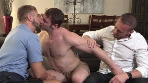 FamilyDick - Myles Landon giving head for Wesley Woods