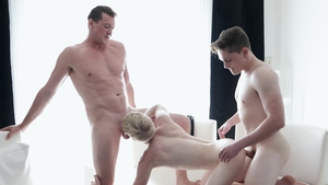 FamilyDick: Thick Pierce Paris sexy dancing 3some
