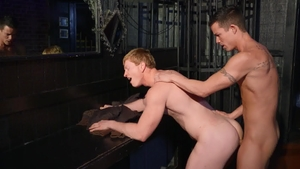 DrillMyHole.com - Kyle Connors with Nic Sahara sensual kissing