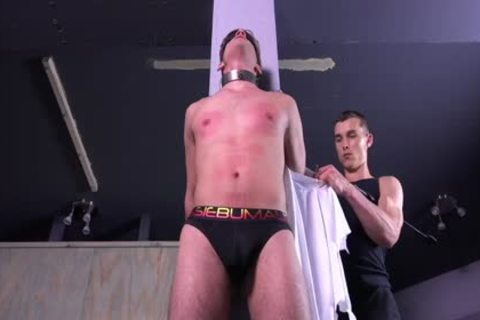 indecent Michael DelRay tied & Dominated In Sadomasochism Dungeon