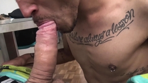 Latin Leche: Super hot couple raw butt fucked in park