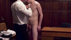 Missionary Boys - Wet Elder Packer discipline in a dress