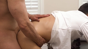 MissionaryBoys - Wet Brother Calhoun plowed by penis stranger