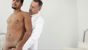 MissionaryBoys.com: Very sexy big balls Elder Berry stroking