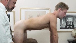 MissionaryBoys.com: Young Elder Esplin pounding undressing