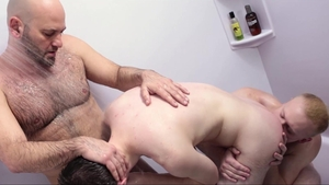 MissionaryBoys: Brother Samuels giving head for huge dick