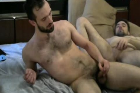 hairy males anal pounding On cam