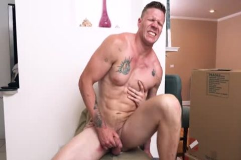 Hunky str8 spouse banged In Front Of Dumb Wife