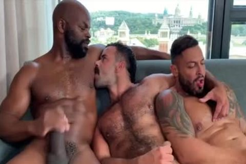 I'm A Fan Of His Way Of engulfing And Being Bottom: Damn So horny 3some