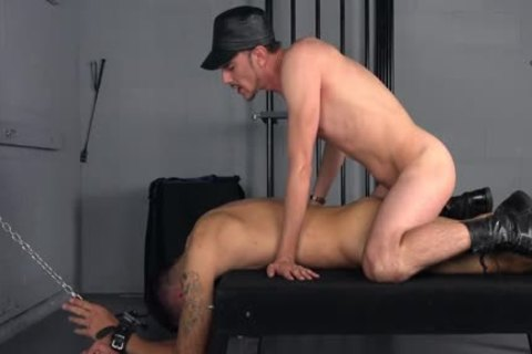 Hung Nerd Cums In Straight Virgin guys anal After bare nailing - gay bdsm