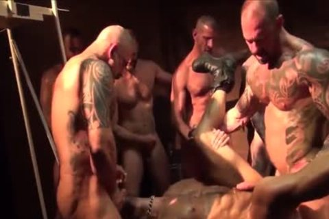 As A Bottom - My Fav Scene Compilation 09 (Muscle Tops In gangbang & fuckfest)