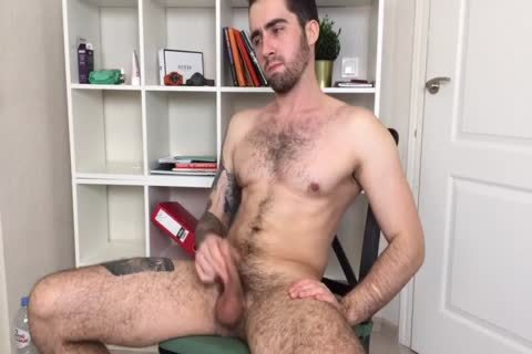 Bushy And brawny Russian Males Alex Discharges A monstrous Load