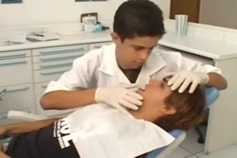 teen And Doctor In The Dental Office