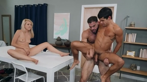 Men.com - Ty Mitchell wearing high heels digs slamming hard