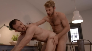 Drill My Hole: Gabriel Phoenix & Franky Fox gets ass licked