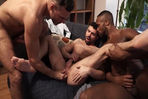 lusty three-some - Fisting, ass job, oral, sperm On booty