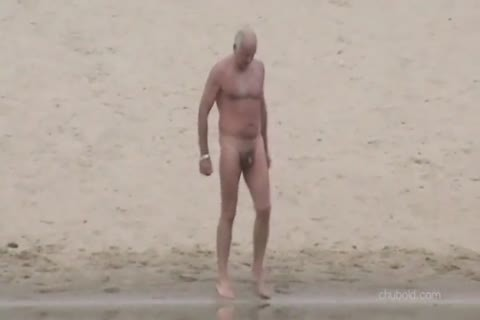 Spy old guys And Grandpas Swimming naked