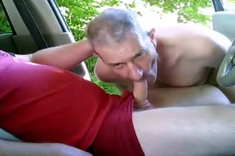concupiscent gay boys On Car Have Some Public And Outdoor Sex