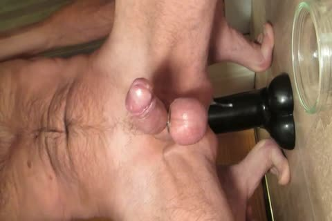 Shooting sperm Riding My enormous Smooth darksome sextoy