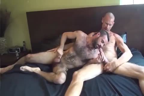 GUNNER DAVID GIFTED DADDY STUFFING bushy butthole