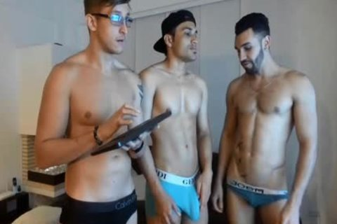 three-some Live latin chick homosexual's Show
