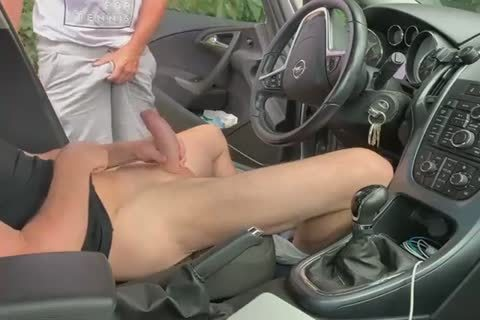 engulf And handjob In The Car two