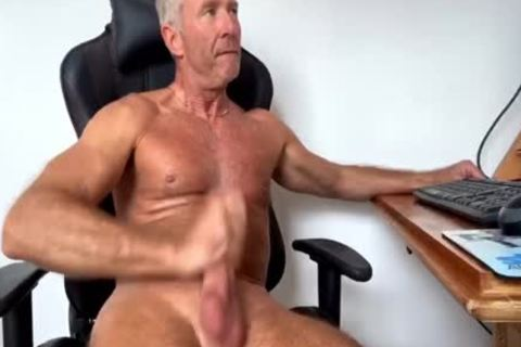 Dream Dilf Play With His enormous Uncut German 10-Pounder (no love juice)