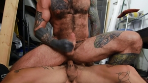 Bromo US: Bo Sinn plus tattooed Markus Kage