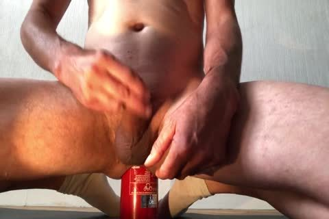 agreeable Insertion bizarre Bottle anal With cumshot