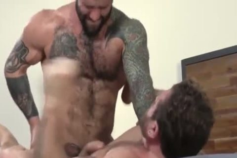 homosexual Sex : Markus Kage & Cub hairy
