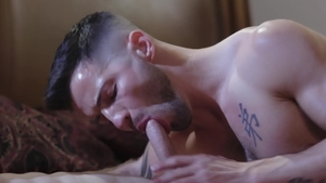 IconMale: Inked Nick Fitt goes in for nailing