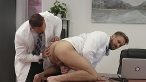 IconMale.com - Doggy fuck with Michael Roman & Wesley Woods