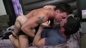 IconMale - Muscled DILF Cade Maddox nailed by huge penis guy