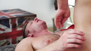 IconMale - Hairy Brian Bonds jock anal fucking porn