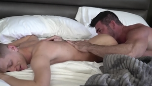 IconMale: Billy Santoro playing with huge penis Austin Chapman