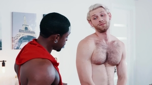 NoirMale: Jacob Peterson with DeAngelo Jackson blowjob cum