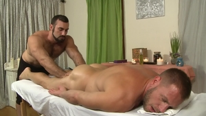 IconMale - Hans Berlin and Jaxton Wheeler fetish blowjob cum