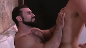 IconMale.com: Hairy Pierce Hartman butt fucking sex tape