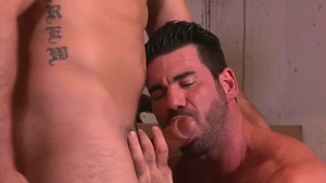 IconMale - Hairy huge penis Billy Santoro anal