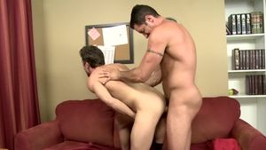 Icon Male - Muscle Lance Hart receives plowing hard HD