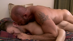 Icon Male - Plowing hard beside muscle DILF Matt Stevens