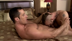 Icon Male - Nailing with hairy Jessie Colter and Nick Capra