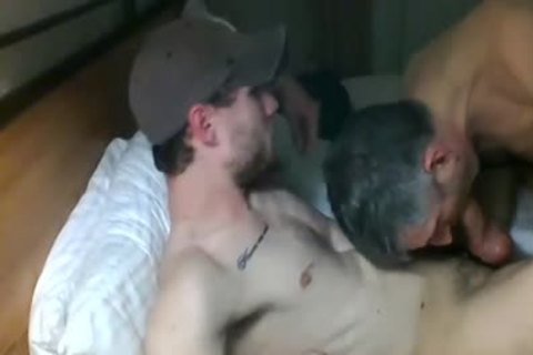 old sucking cock In Live