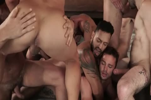 11 dudes bare orgy pretty bare fuck