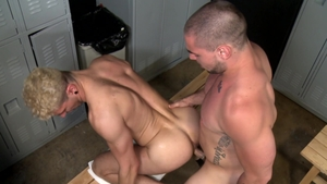 ExtraBigDicks: Ian Greene and Aspen ass fuck