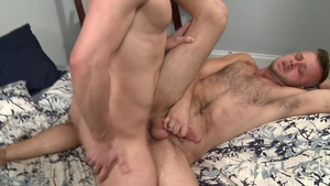 Extra Big Dicks - Chandler Scott among hairy Connor Halstead