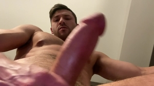 ExtraBigDicks.com: Gay Scott DeMarco touches huge dick