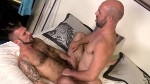 Men Over 30 - Huge dick Chris Harder butt sex