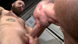 MenOver30: Gay Dustin Steele plowed by John Magnum