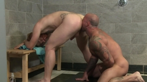 Men Over 30 - Gay Bennett Anthony being pounded by Sean Duran